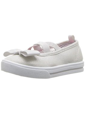Kids Carter's Girls Bryony Fabric Slip On Mary Jane Flats
