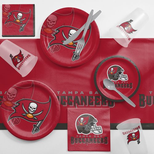 Tampa Bay Buccaneers Game Day Party Supplies Kit