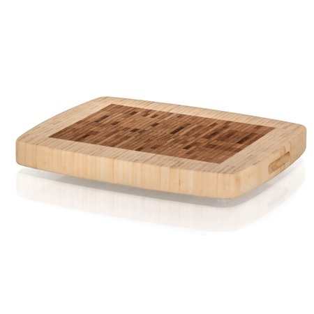 Board Precision Workstation - Prosumer's Choice Bamboo Cutting Board - Kitchen Workstation