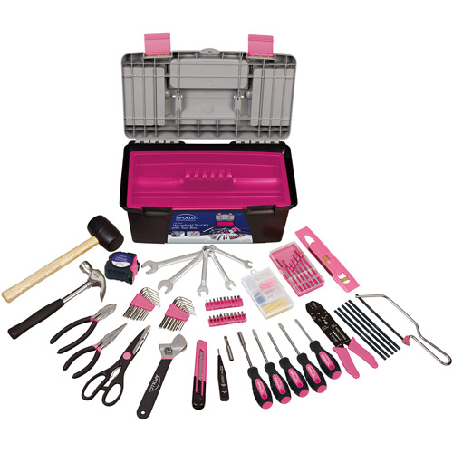 170-Piece Tool with Pink Tool Box