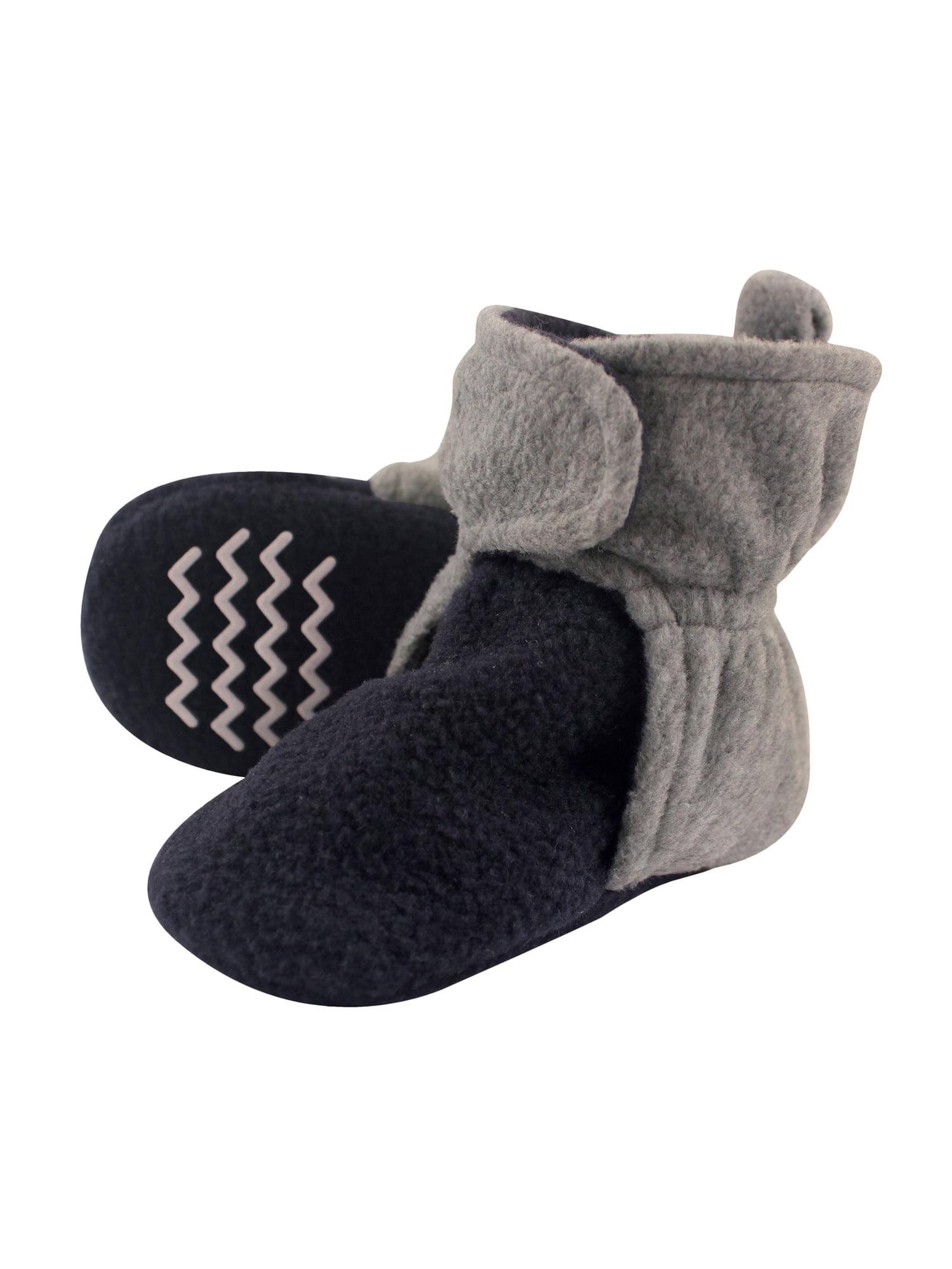 Boy Cozy Fleece Booties by Hudson Baby