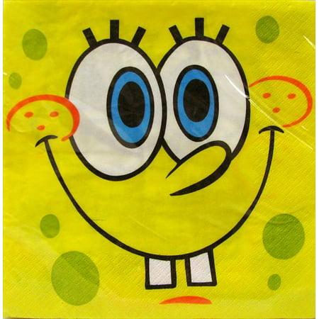 SpongeBob SquarePants 'Moods' Lunch Napkins (16ct)](When Is Spongebob Birthday)