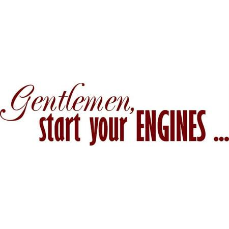 Gentleman Start Your Engines Picture Art 8