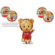 3 PIECE DANIEL TIGER NEIGHBORHOOD Birthday Party Balloons Decoration Mr. Rodgers