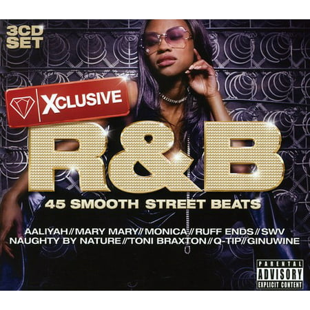 Xclusive R&B (CD) - R&b Halloween Music
