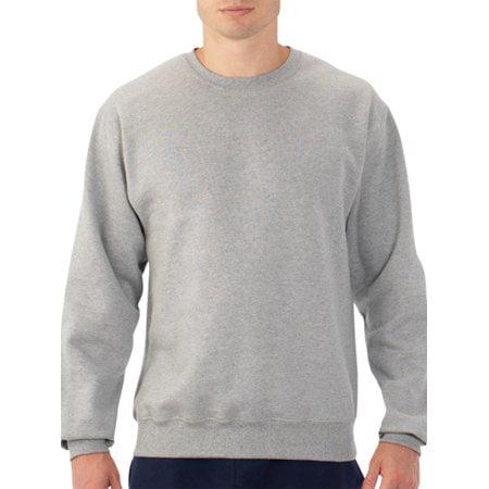 Fruit of the Loom Mens Dual Defense EverSoft Crew Sweatshirt,