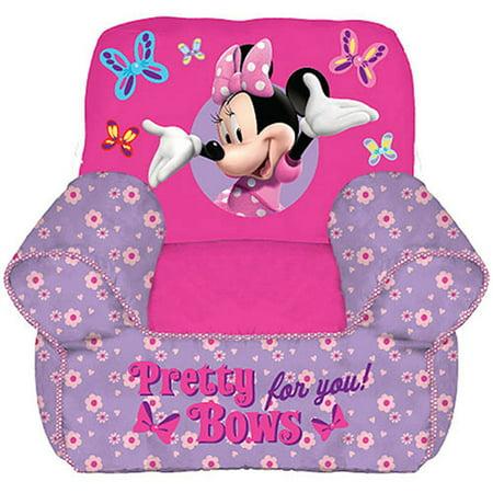 Upc 784857494150 Disney Minnie Mouse Toddler Bean Bag Chair