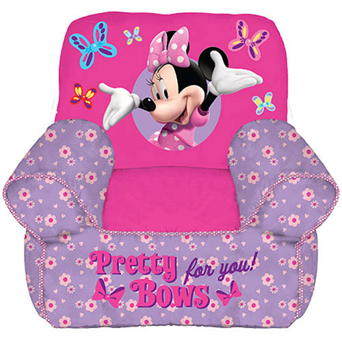 Luxury Disney Minnie Mouse Toddler Bean Bag Chair
