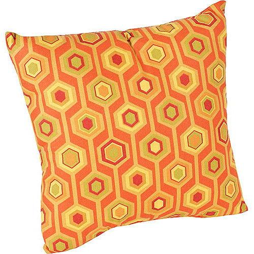 "16"" Outdoor Toss Pillow, Titus Henna"