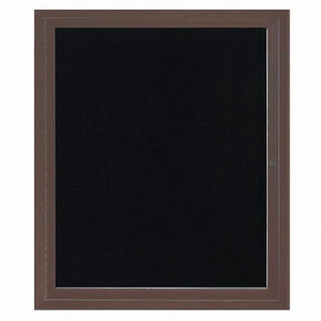 Aarco Products ADC3630BA Enclosed Directory Board - Bronzed Anodized