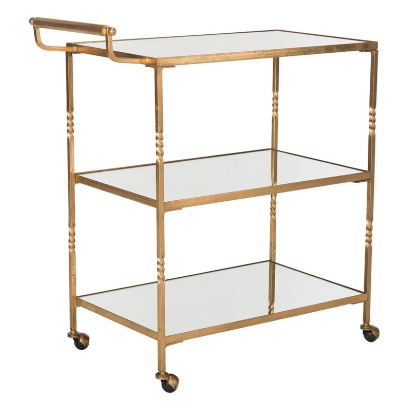 Safavieh Aurelius Bar Cart, Multiple Colors