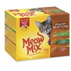 Meow Mix Seafood Selections Variety Pack Wet Cat Food Walmart