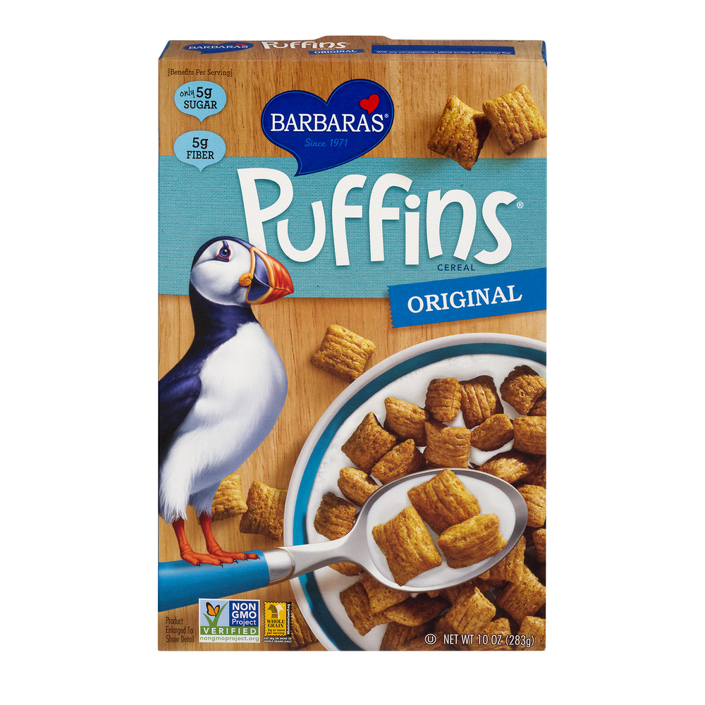 Barbara's Puffins Cereal Original, 10.0 OZ