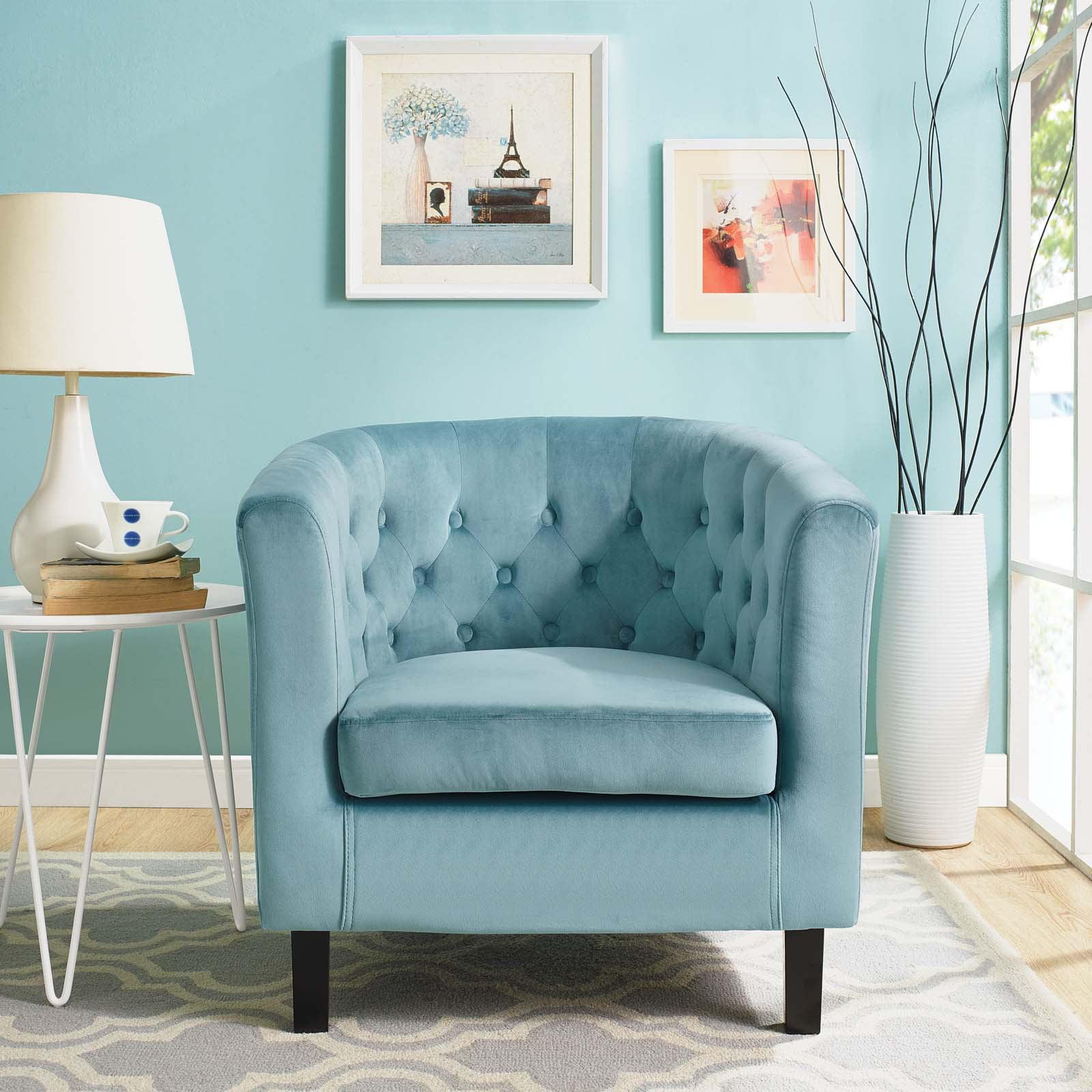 Modway Prospect Velvet Upholstered Armchair, Multiple Colors by Modway