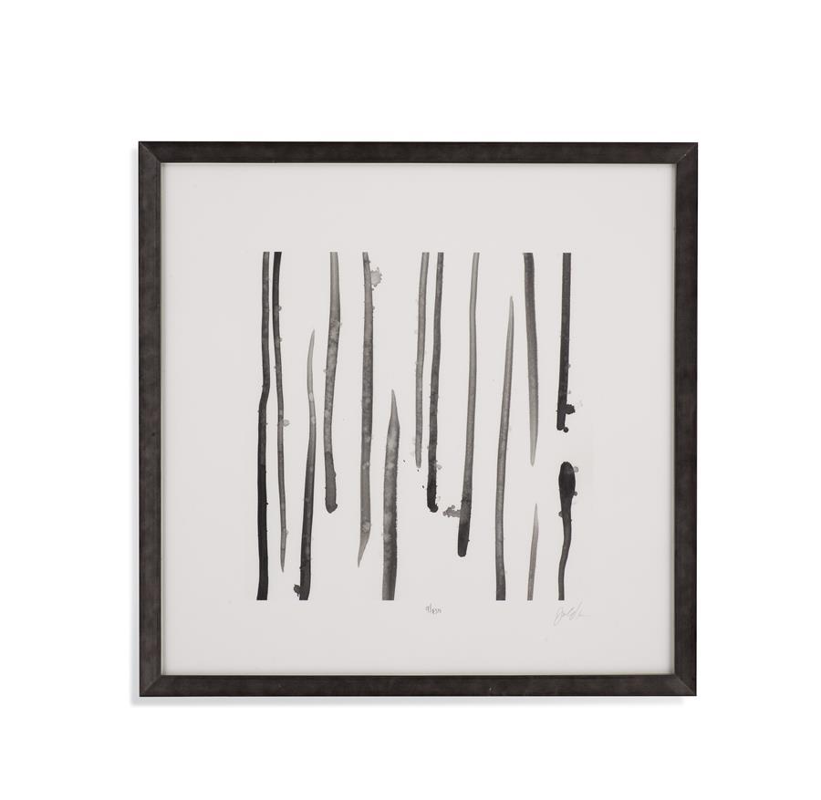 Bassett Mirror Monochrome Gestures IX Framed Art