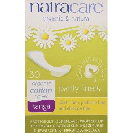 Natracare Natural Organic Thong Style Panty Liners 30 ea