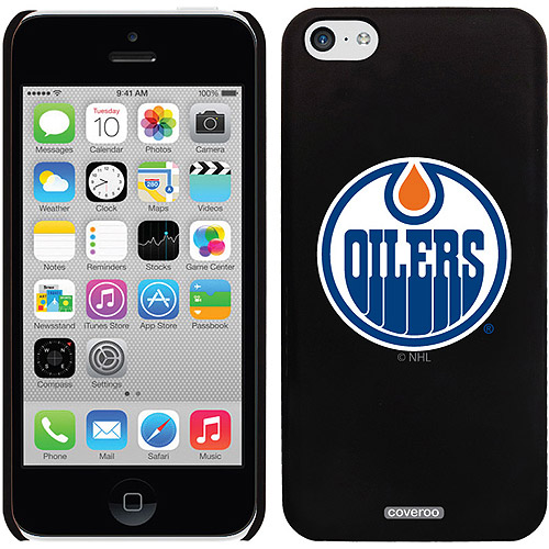 Edmonton Oilers Oilers Circle Design on iPhone 5c Thinshield Snap-On Case by Coveroo