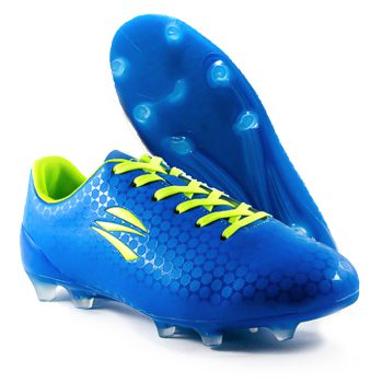 zephz Wide Traxx Premier French Blue Soccer Cleat Adult