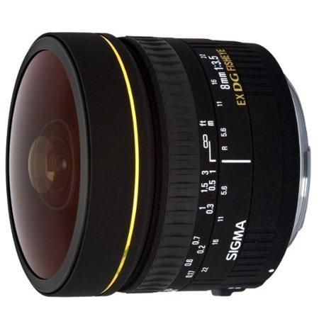 Sigma 8mm f/3.5 EX DG Circular Fisheye Lens for Canon SLR Cameras