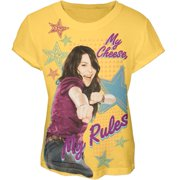 iCarly - My Cheese My Rules Girls Youth T-Shirt - Youth Large