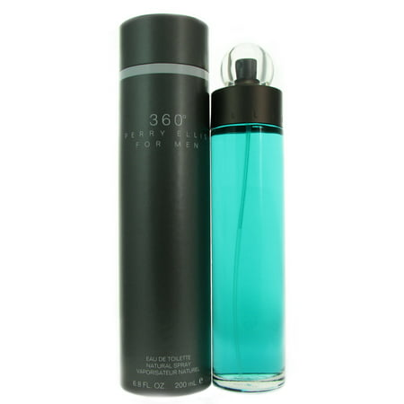 Perry Ellis 360 Degrees Eau De Toilette Spray  6 8 Oz
