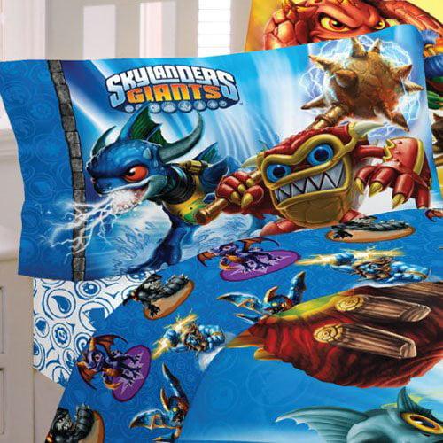 Skylanders Sky Friends Cotton and Polyester Sheet Set