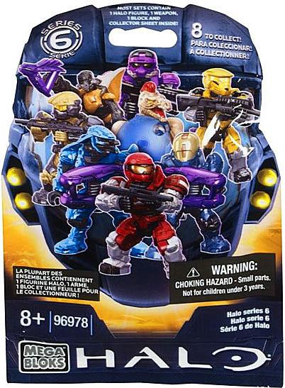Mega Bloks Halo Series 6 Minifigure Mystery Pack by