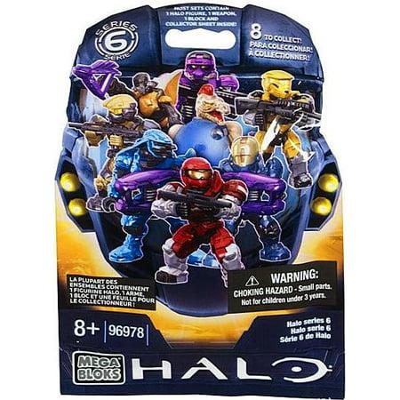 Mega Bloks Halo Series 6 Minifigure Mystery Pack ()