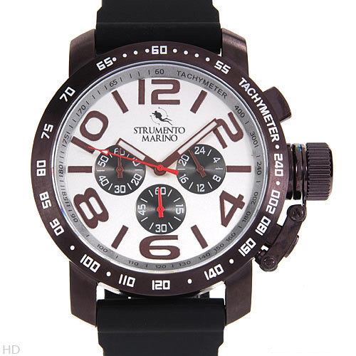Strumento Marino Reef SM051RBR/WH Men's Stainless Steel Watch