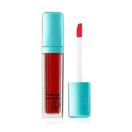(6 Pack) e.l.f. Aqua Beauty Radiant Gel Lip Stain - Red Orange Wash