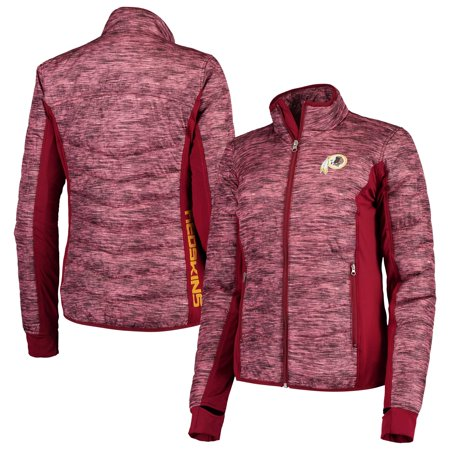 buy online 3f43c 0d64d Washington Redskins G-III 4Her by Carl Banks Women's Huddle Full-Zip Jacket  - Burgundy