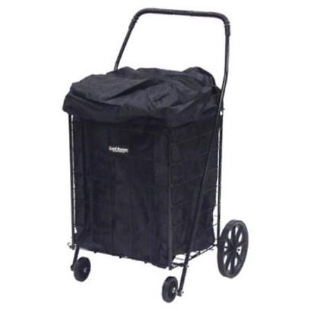 black shopping cart carry liner with jumbo black hood square bottom only one. Black Bedroom Furniture Sets. Home Design Ideas