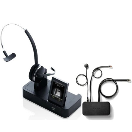 PRO9460 Mono with EHS Avaya 14201-35 Wireless Headset DECT Noise-Canceling (Avaya Wireless Communication)