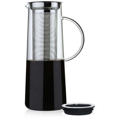 Zassenhaus Aroma Brew 33.8oz Coffee Maker w/ Stainless Steel Micro Filter