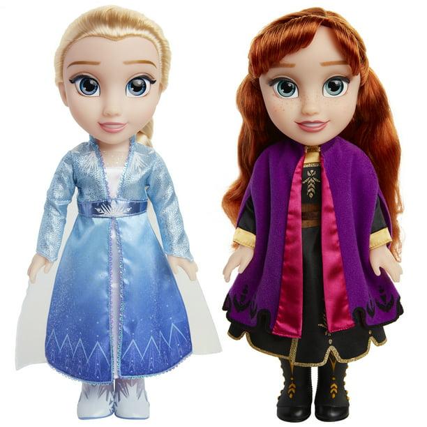 Disney FROZEN II Anna /& Elsa doll set