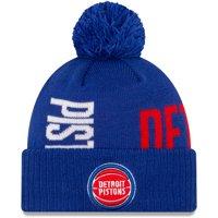 Detroit Pistons New Era 2019 NBA Tip-Off Series Cuffed Knit Hat - Blue - OSFA