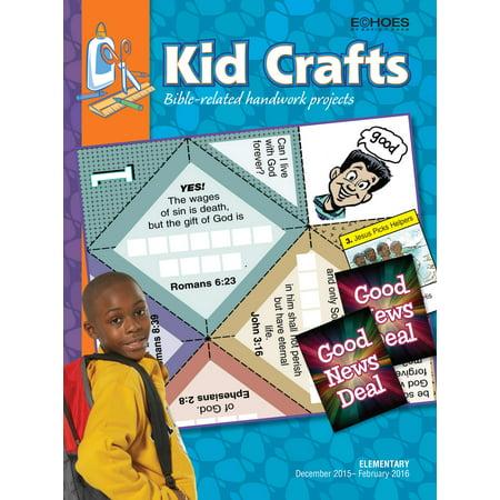 Kids Winter Crafts (Echoes Winter 2018-2019: Elementary Kid Crafts)