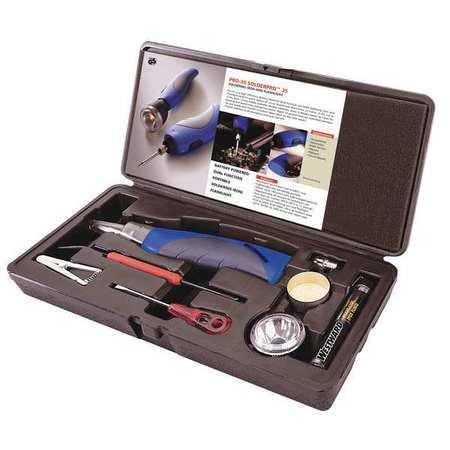 westward 46z435 cordless solder iron kit. Black Bedroom Furniture Sets. Home Design Ideas