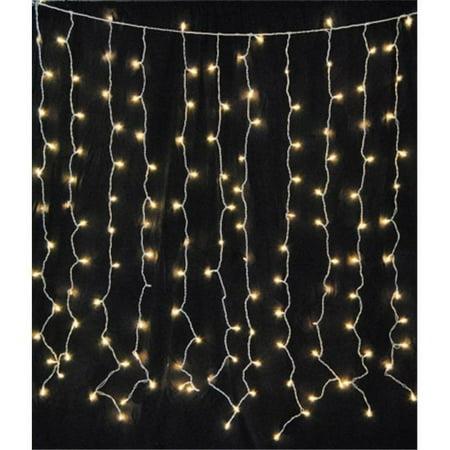 Winterland WL-CUR150WW-LED-W Led Light Curtain (Winterland Theme)