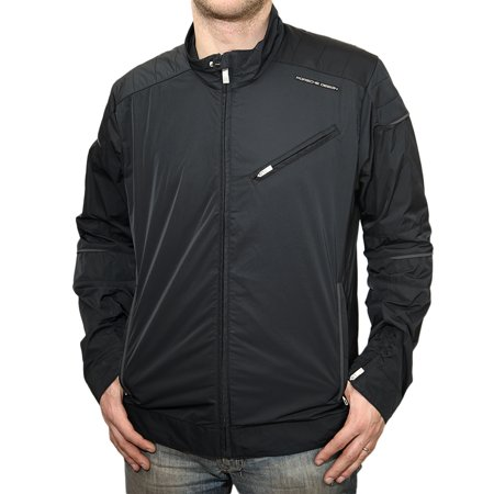 adidas porsche design racing jacket black mens. Black Bedroom Furniture Sets. Home Design Ideas