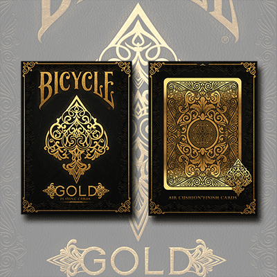 Bicycle Gold Deck by US Playing Cards Trick by Murphy's Magic Supplies, Inc.