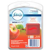 Febreze Wax Melts Fresh Pressed Apple Air Freshener, 6 count