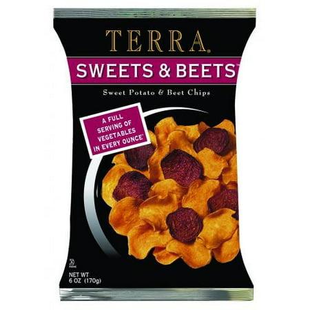 Terra Sweets   Beets Chips  Sweet Potato   Beets  6 Oz