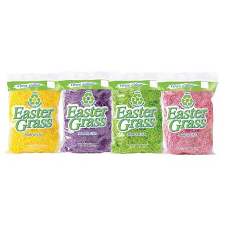 MorrisCostume FW1226 1.5 oz Bag Easter Grass Paper - Multicolor - Paper Easter Grass