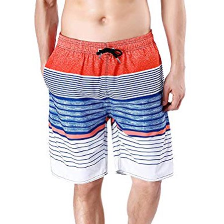 8442f3fe6e Lelinta - LELINTA Mens Active Shorts & Men's Swim Shorts Beach Trunks Surf  Quick Dry Boardshorts Swimwear - Walmart.com