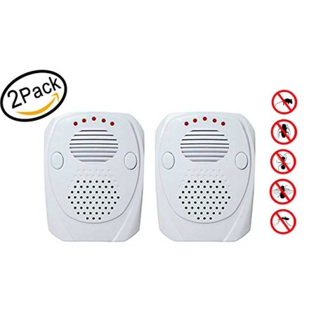 Patented  Ultrasonic Pest Repellent  2 Units  Indoor   Portable  Usb  Defense Solution  Led Nightlight Dual Technology Repeller Repels Ants Roaches Mice Mosquitos Bedbugs Rodents Spiders
