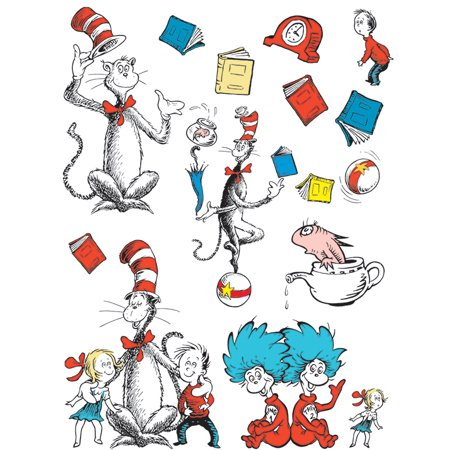BB SET CAT IN THE HAT LARGE CHARACTERS