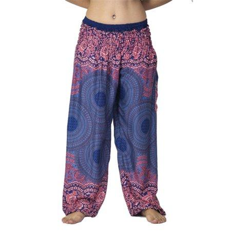 a695c7fe1 Unisex Womens Ali Baba Harem Pants Leggings Ladies Baggy Aladdin Hippy Yoga  Trousers - Walmart.com