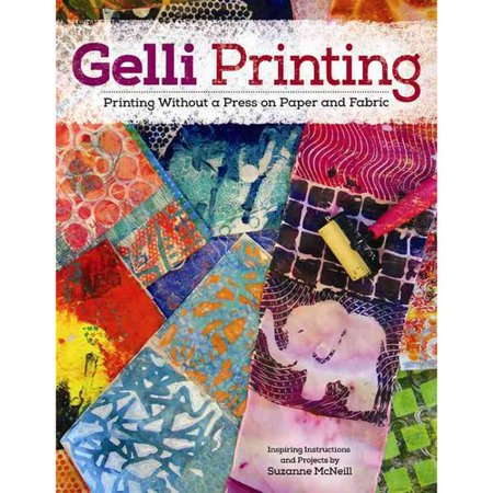Gelli Printing : Printing Without a Press on Paper and Fabric Using Gelli(r) Plate - Paper Plate Halloween Mask Ideas