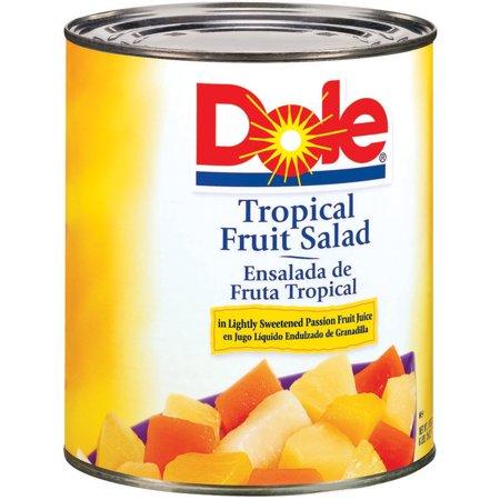 (2 Pack) Dole Tropical Fruit Salad, 106 oz